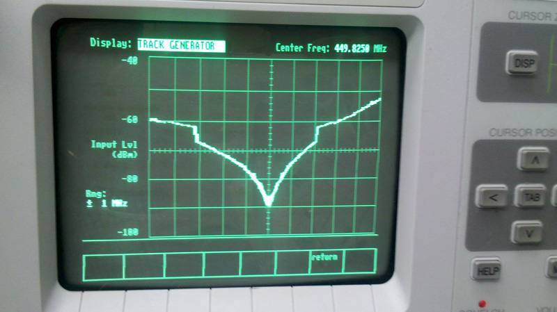 Service Monitor Sinclabs UHF Duplexer 02 VA2CYH DMR Repeater is back on the air